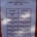 Tarife Baza Cazacu